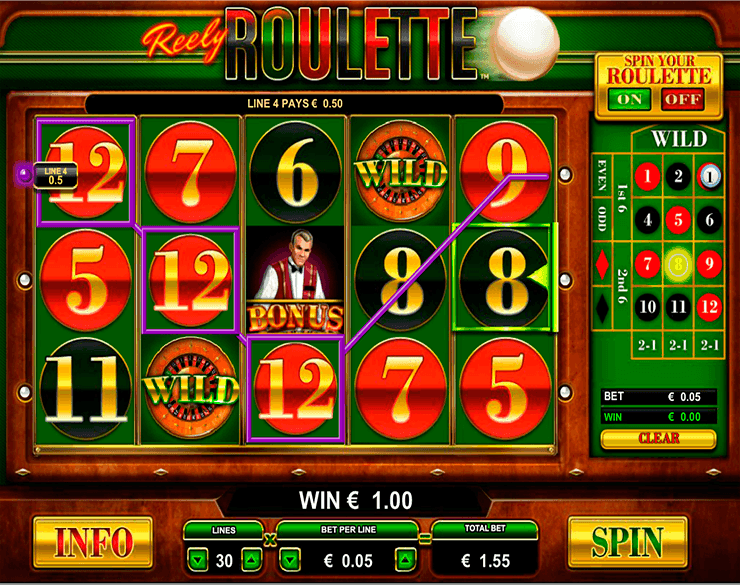 Online roulette win money